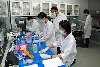 Researchers at AIT's Center of Excellence in Nanotechnology