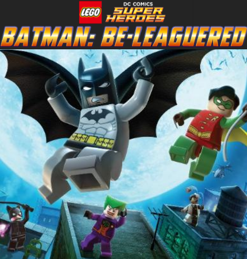 watch online :Lego DC Comics: Batman Be-Leaguered 2014