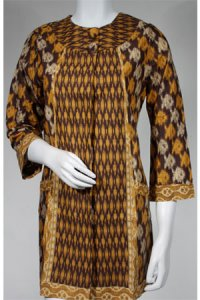 Batik Kasato KST 08 - Coklat PH [ M ] (Toko Jilbab dan Busana Muslimah Terbaru)