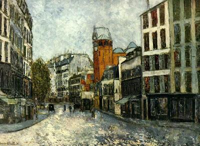 Maurice Utrillo - rue des abesses,ca.1910