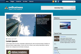 onBusiness Blogger Template