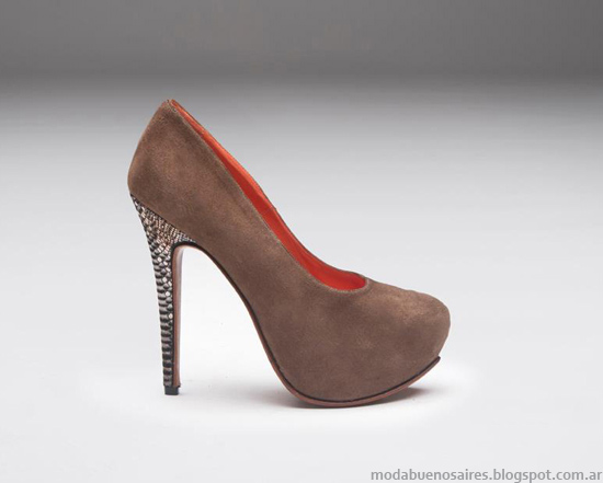 moda invierno 2013 zapatos de mujer