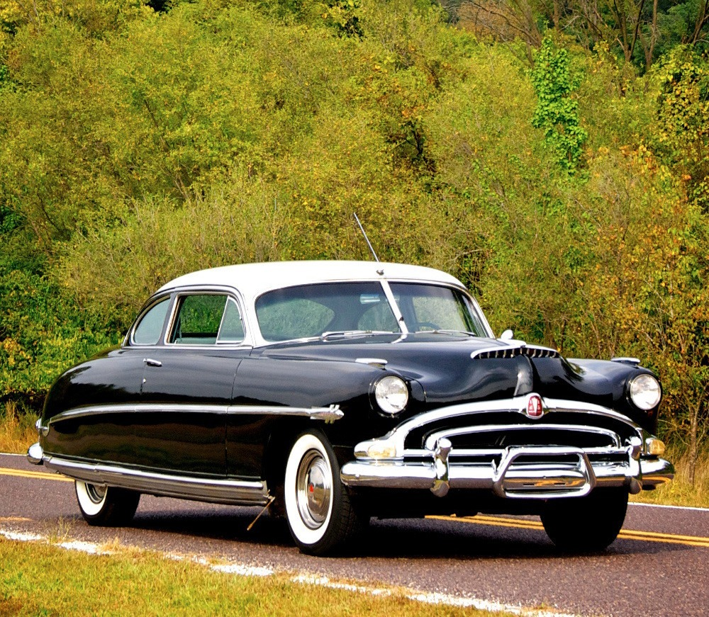 all american classic cars 1953 hudson hornet 2 door club coupe. Black Bedroom Furniture Sets. Home Design Ideas