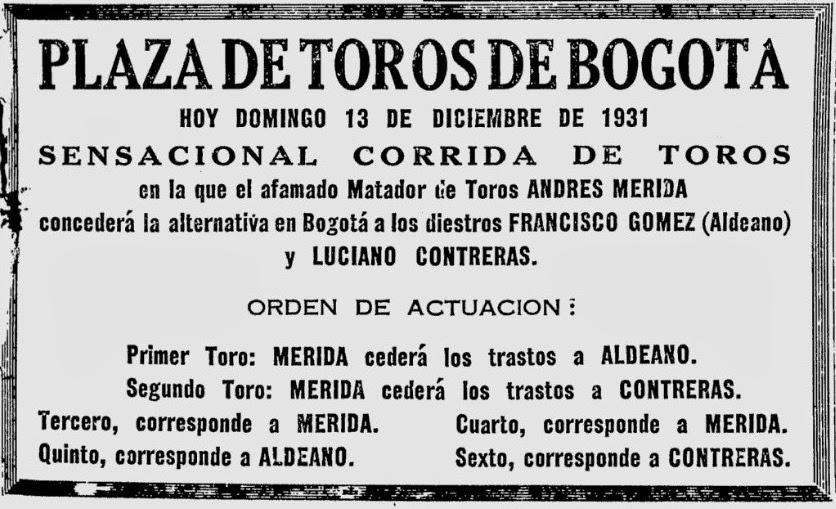 13 de octubre de 1931: