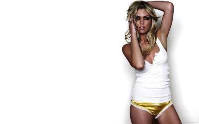 Abigail Clancy Swimsuit Model Wallpaper