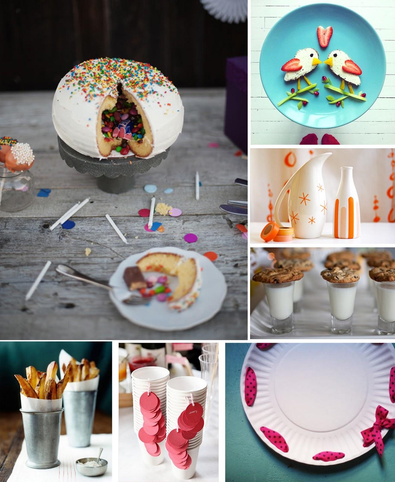 Ideas para una fiesta. HomePersonalShopper, buffet, tarta, guirnaldas, cumpleaños, niños, niña, infantil, washi tape