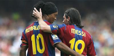 Ronaldinho vs Messi… ¿Quien es el rey del Barcelona?