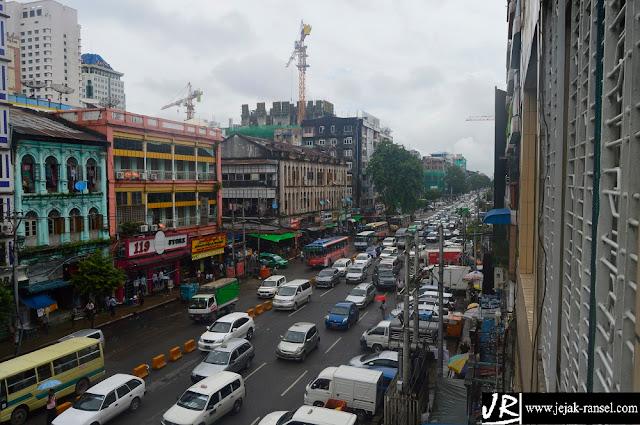 """""""Yangon Street"""""""