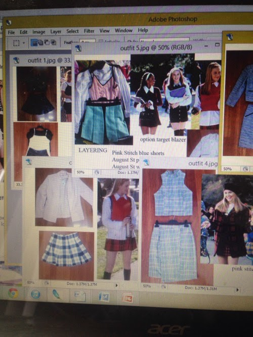 clueless, clueless fashion, clueless photoshoot, samira hoque, shstyling, alison abdullah, amrita sur, cher,