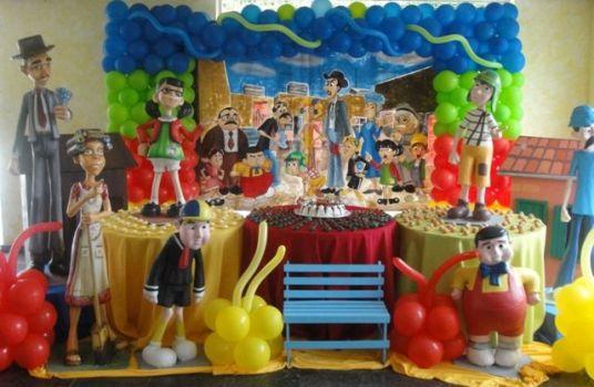 FESTA DO CHAVES: 20 Ideias e Fotos de Aniversários