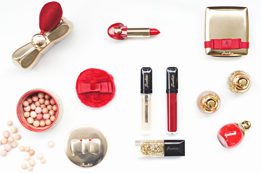 guerlain christmas make up collection 2014 , coque d'or , palette petrouchka , meteorites , blogger review