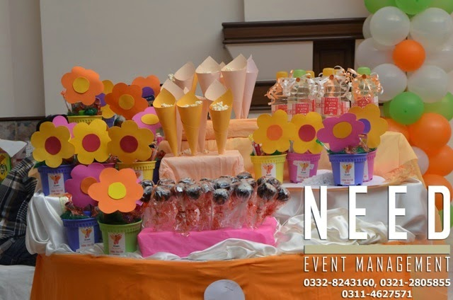 Need Event Management: Birthday Party Decoration with Flower Theme