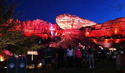 Radiator Springs Racers Night Cars Land