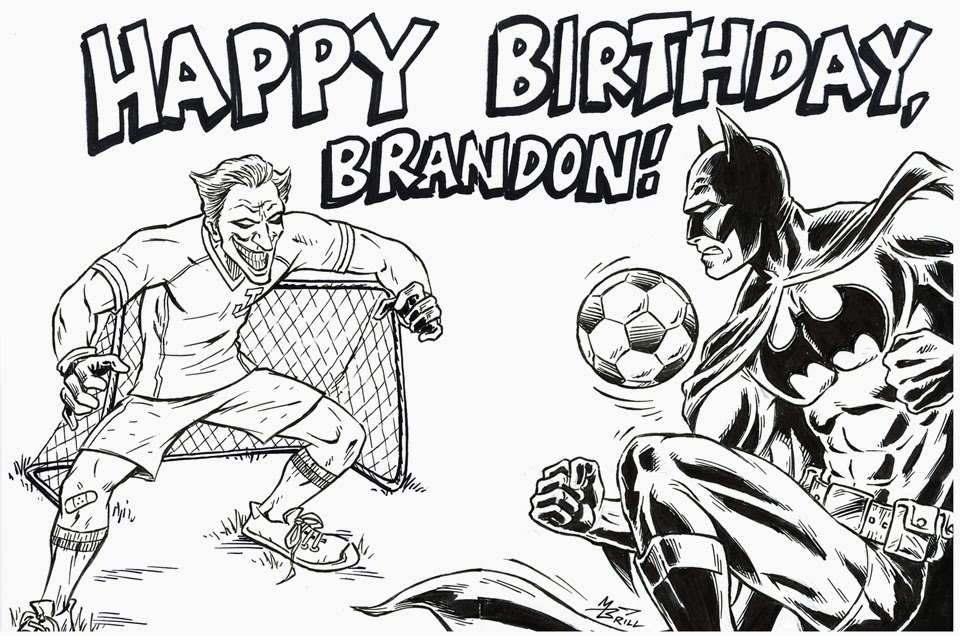 the brillustrator birthday drawings