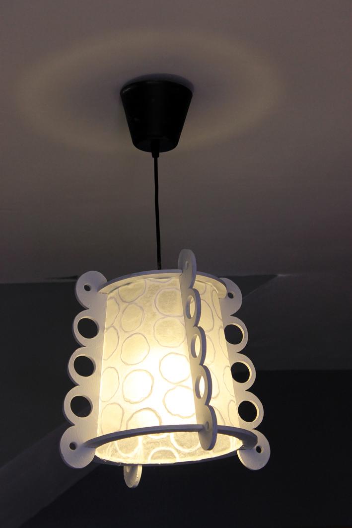 Hilocoqueto lamparas de papel y dm - Lamparas de papel ikea ...