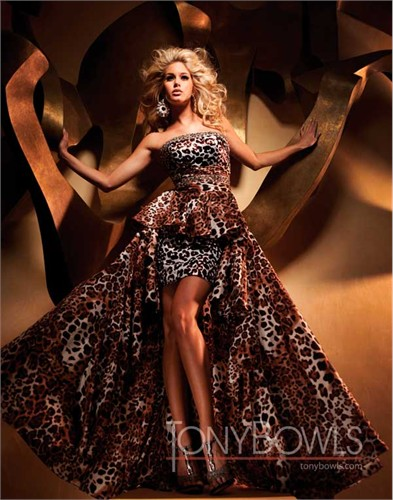 Tony Bowls High-low Prom Dress