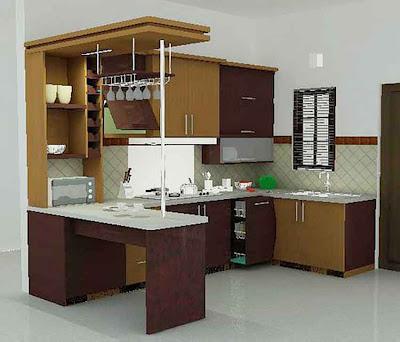 Gambar Desain Interior Dapur Minimalis 01