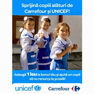 UNICEF si Carrefour