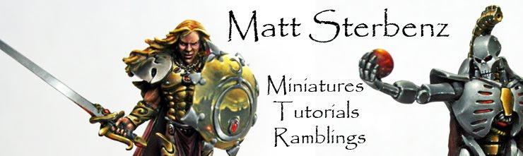 Matt Sterbenz Miniature Painting