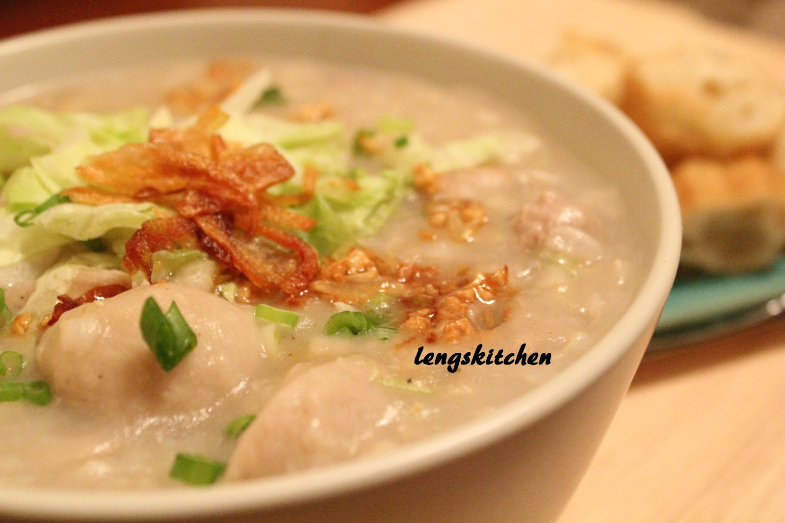 Kitchen Chaos: Pork Congee 猪肉粥