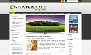 Websterscape WordPress Theme