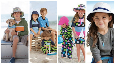 UPF 50+ Kids Clothes, Sun Protective Swim Wear, Sun Protective Active Wear For Kids