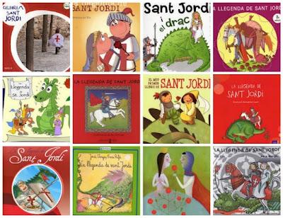 sant Jordi, el drac, la rosa