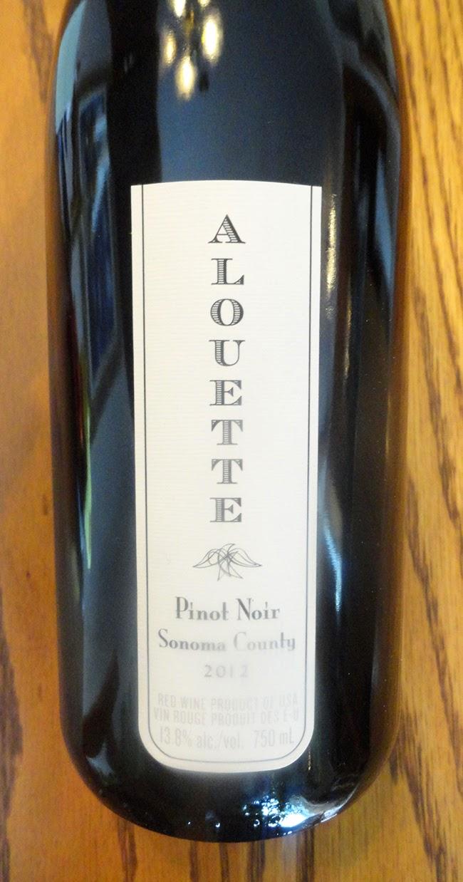 Club des d gustateurs de grands vins pinot noir alouette for La fenetre a cote pinot noir 2012