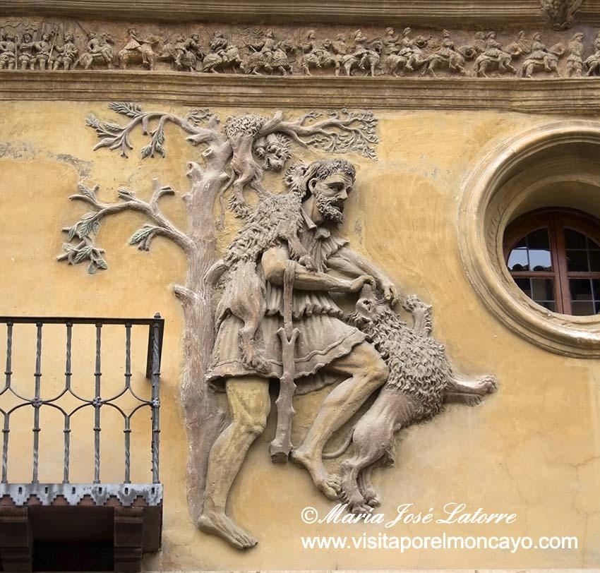Fachada casa consistorial Tarazona