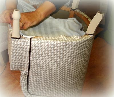 El desv n de los trastucos butaca descalzadora - Como tapizar una descalzadora ...