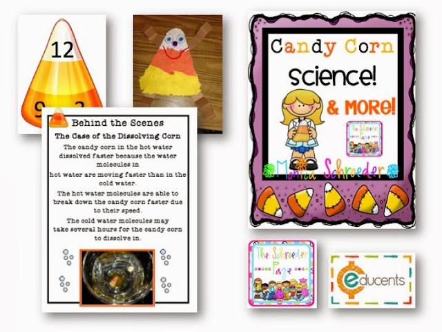Are You Looking for a Bundle of Learning Fun for Your Classroom, candy corn science