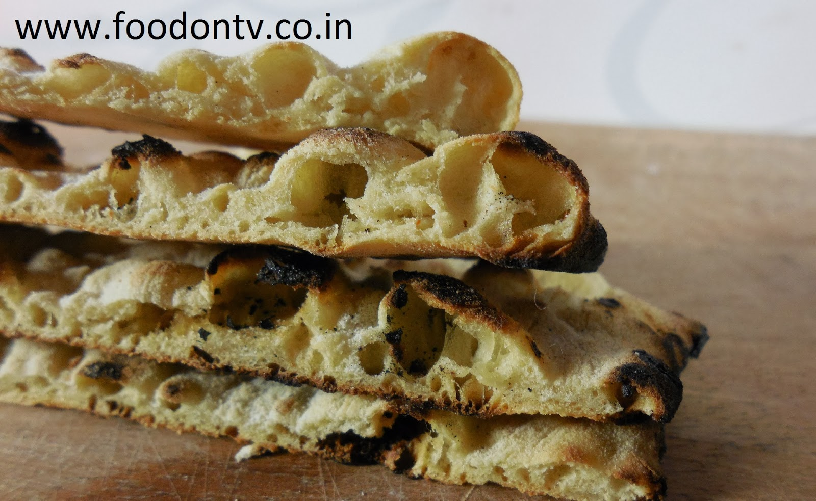 Making Naan without Yeast