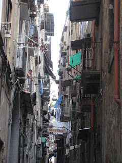 The Old Town of Naples.
