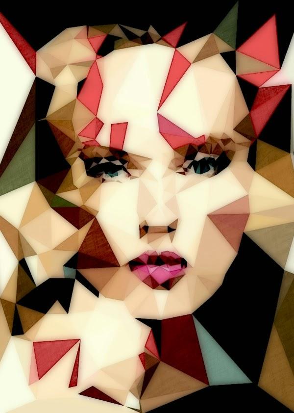 ©Mayka Can2ienova - Abstracciones Poligonales. Ilustración | Illustration