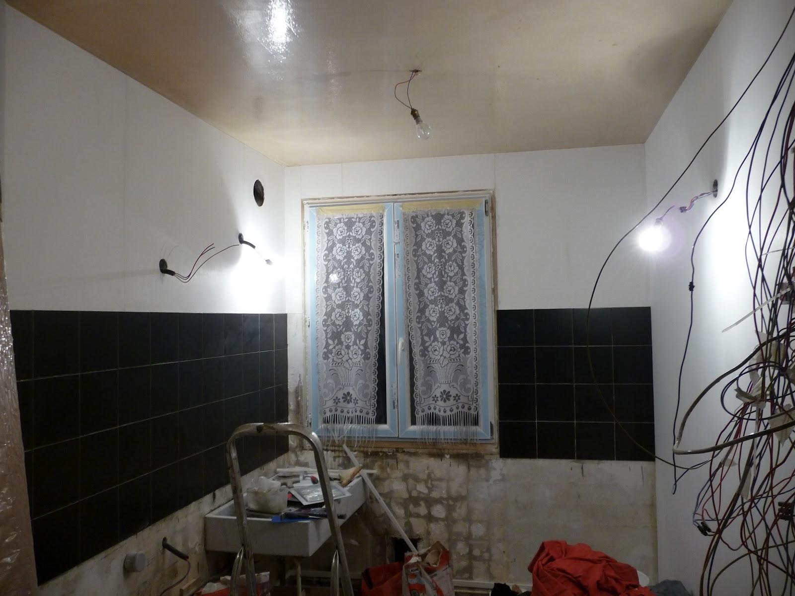 R novation d 39 un appartement rev tement mural cuisine - Revetement mural cuisine ...