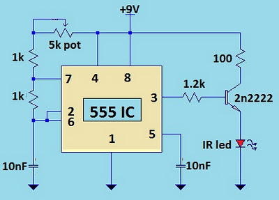 Tv remote jammer using 555 ic circuit diagram circuit diagram tv remote jammer using 555 ic circuit diagram ccuart Choice Image