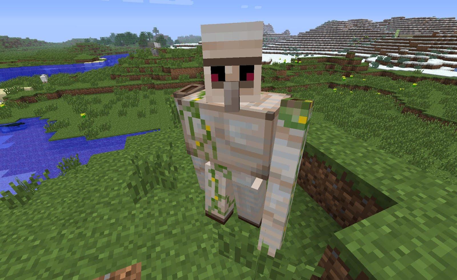 Minecraft 1 2 golem de fer iron golem minecraft france - Minecraft golem de fer ...