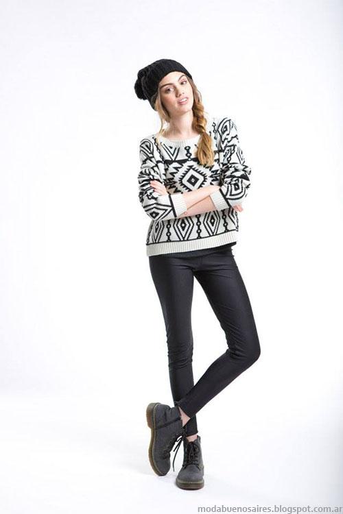 Sweaters invierno 2015 moda juvenil otoño invierno 2015 Como quieres.