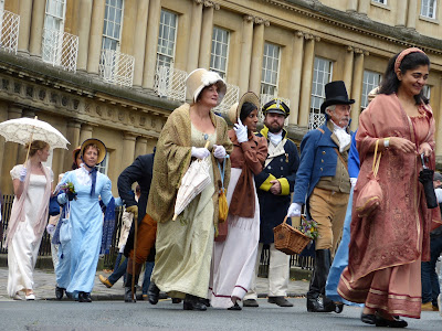 Jane Austen Festival 2015 Regency Promenade in Bath © Andrew Knowles