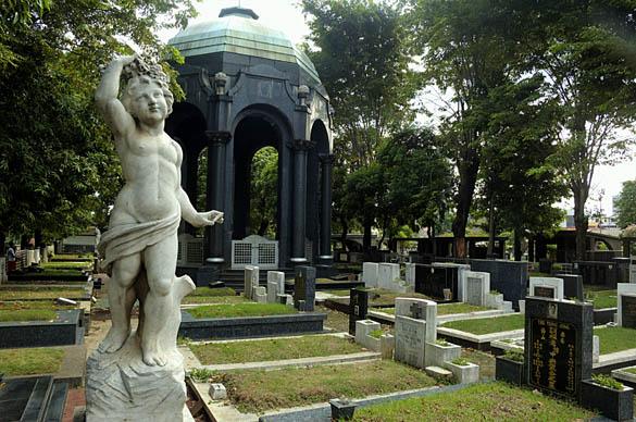 Petamburan Cemetery, Jakarta