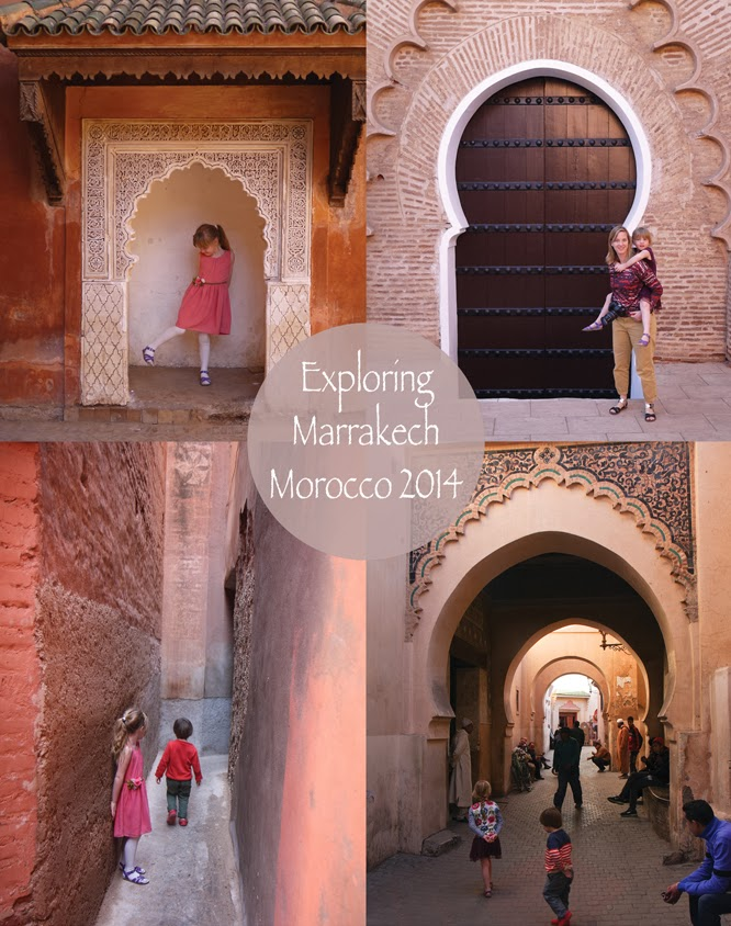 Exploring Marrakech with children - by Alexis of www.somethingimade.co.uk