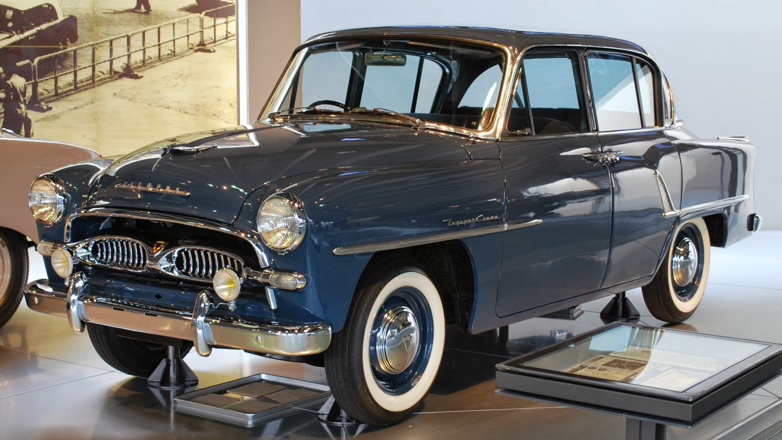 First-generation Toyopet Crown Model RSD 1955-1 – 1958-10