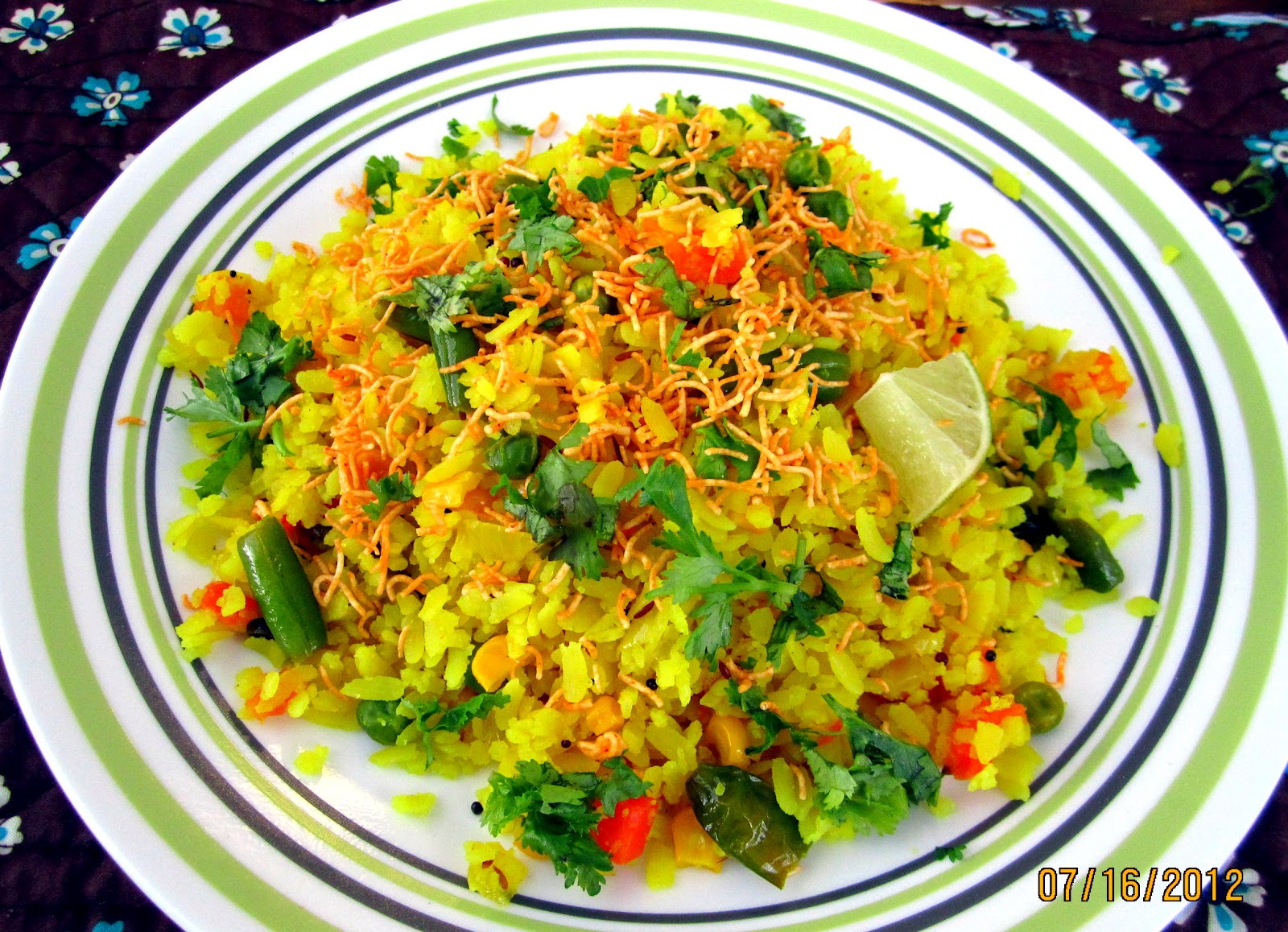 Cooking4hubby!: Vegetable Poha