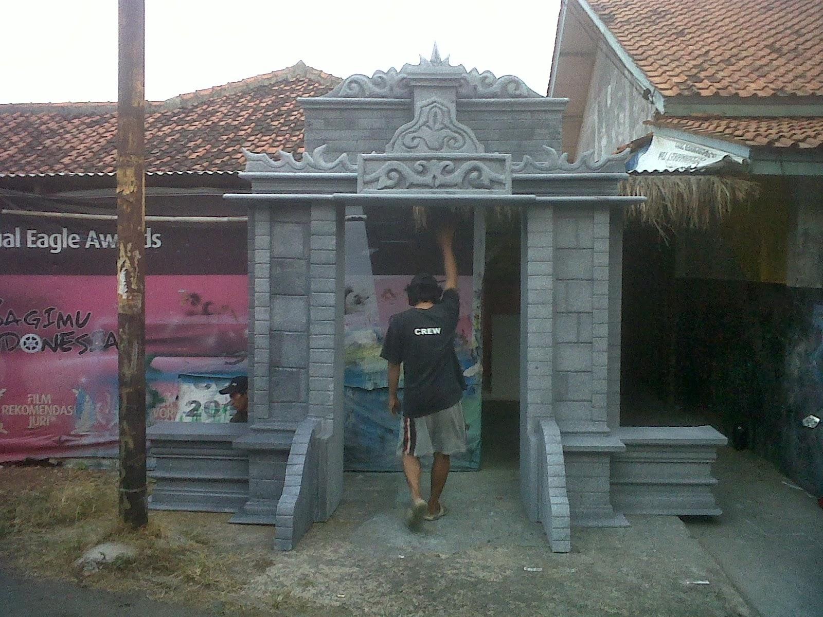 Dekorasi styrofoam gate candi for Dekorasi lebaran hotel