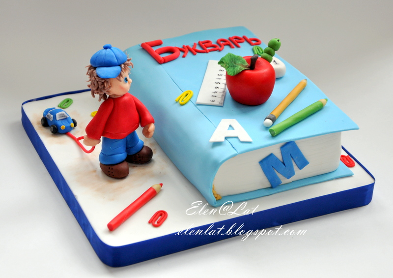 Торт с сгущенкой и фото 6
