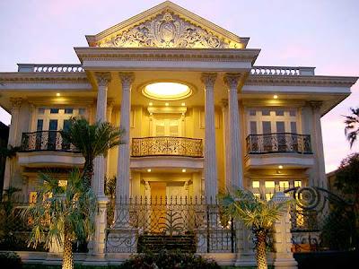Rumah modern classic mediteranean