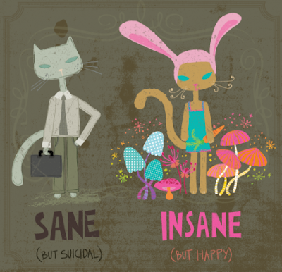 sane or insane The rosenhan experiment or thud experiment was an experiment conducted and published by the journal science in 1973 under the title on being sane in insane.