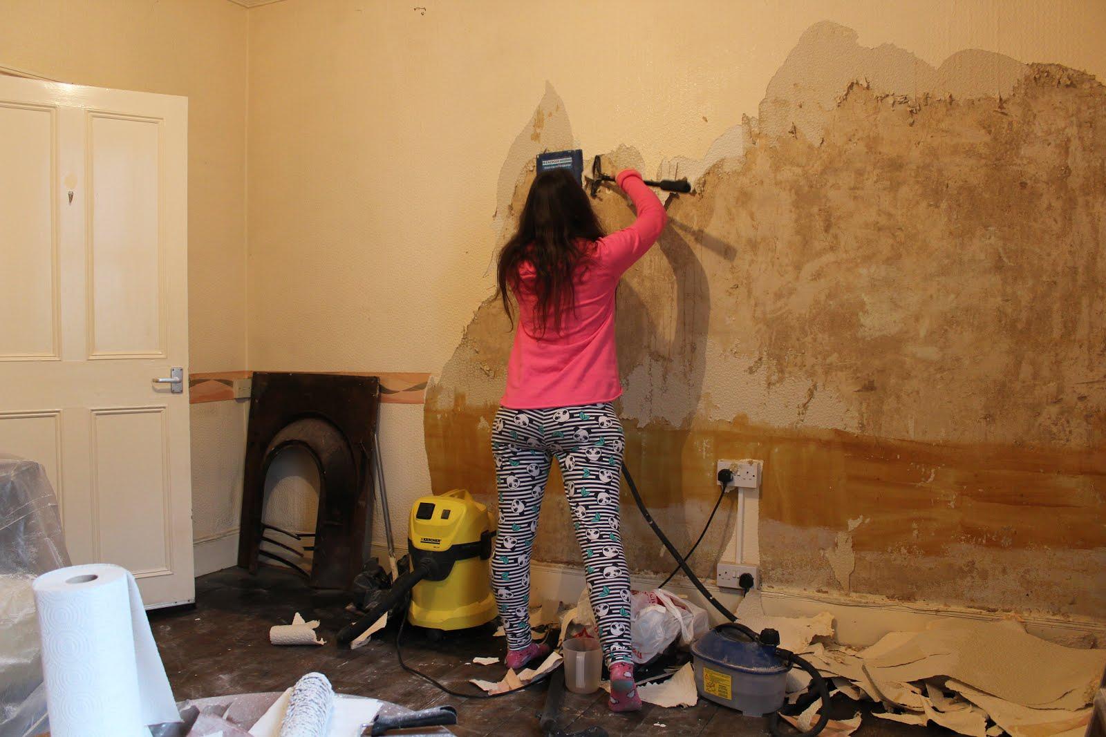 Tips for removing wallpaper