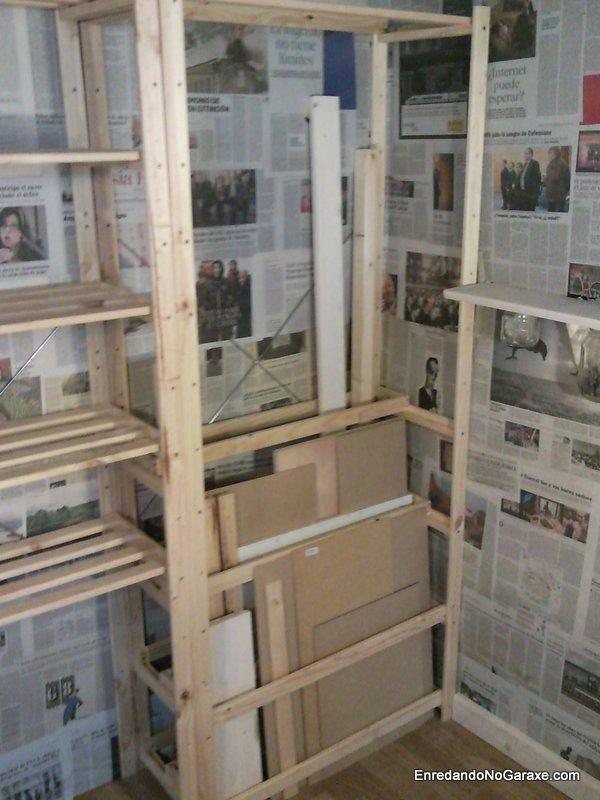 Almacén para madera, Enredandonogaraxe.com