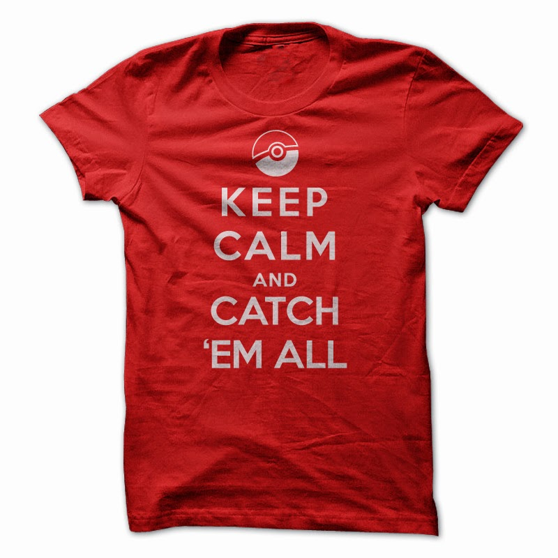 keep calm and catch em all t shirt sun frog